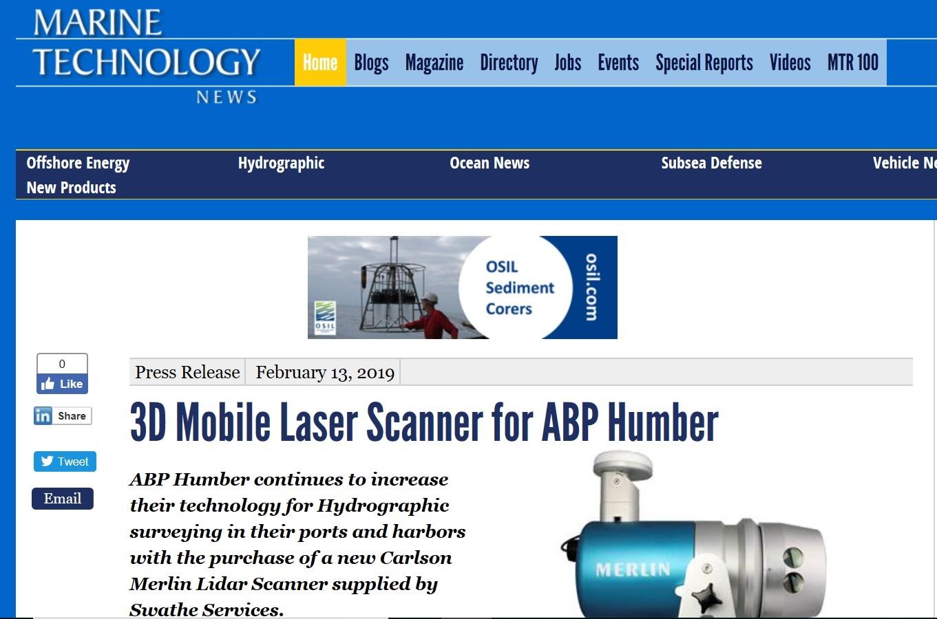 marine technology news feb 19